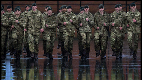 Aldershot, Hampshire, United Kingdom, 4th Battalion The Rifles, © Ben Stevens,