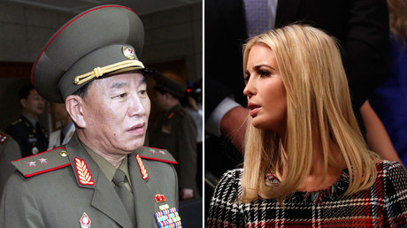 'I still have a bigger button': Trump & Kim doppelgangers 'negotiate' in S. Korea (VIDEO)
