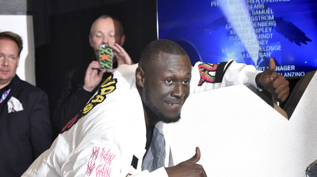 PM 'should do some jail time': Stormzy gets political at the Brits