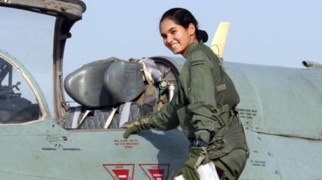 India's first female solo fighter pilot takes to skies in historic training mission