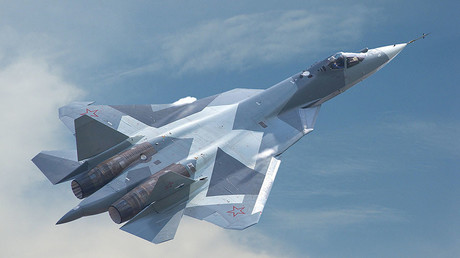 Sukhoi PAK FA T-50 (Su-57) fifth-generation fighter aircraft. © sukhoi.org
