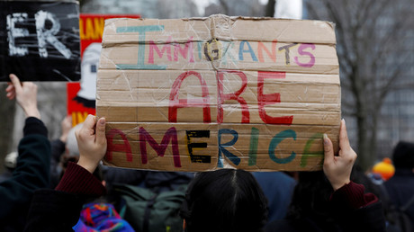 FILE PHOTO: Immigration supporters march from New York to Washington, DC © Shannon Stapleton