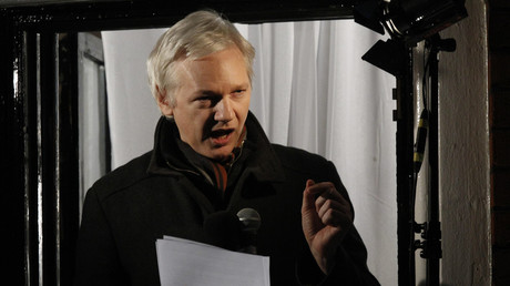 UK is a 'hypocritical mother f*****' over free media claim, Julian Assange says