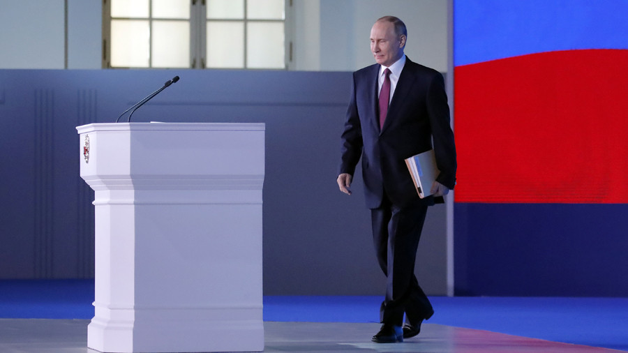 Putin unveils Russia's 'invincible' nuclear weapons