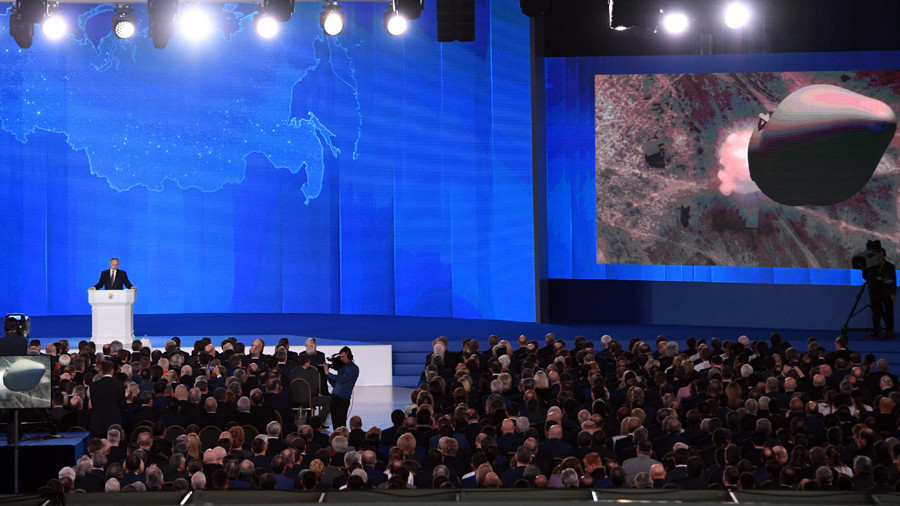 'Listen to us now': Putin unveils new Russian nuclear arsenal