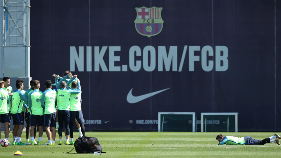 FC Barcelona invite Florida school shooting hero to training session