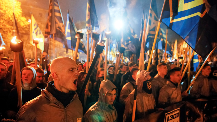 Brits recruited by Ukrainian Neo-Nazi paramilitary organizations