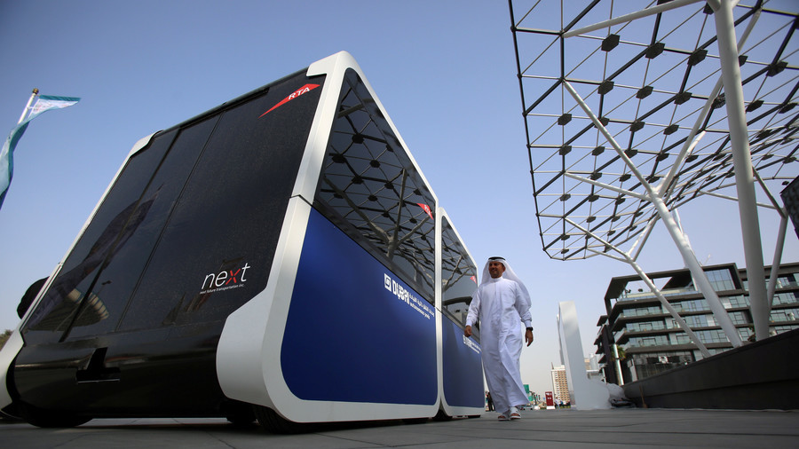 Dubai tests driverless pods in a bid to become world's smartest city (PHOTOS)
