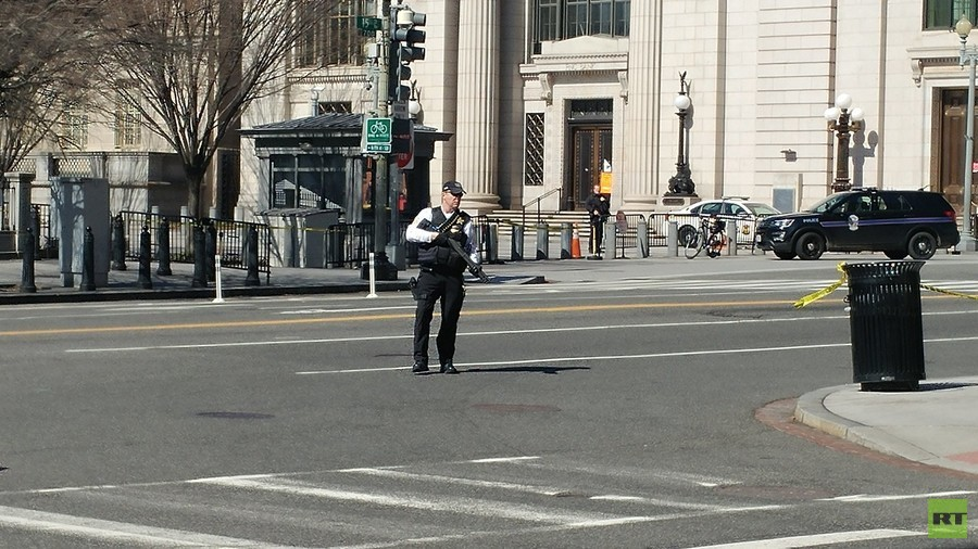 Man dies of 'self-inflicted gunshot wound' in shooting incident at White House