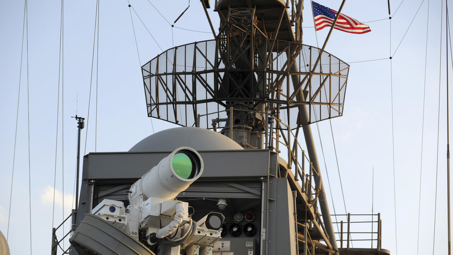 Pentagon to spend up to $1bn on drone-blinding laser