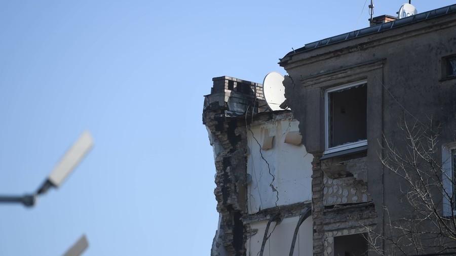 Building collapse kills 4, injures 24 in Poznan, Poland (PHOTOS)