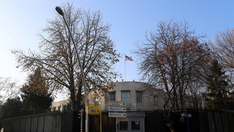 USA embassy in Ankara temporarily closes due to security threat