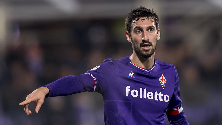 Buffon leads tributes to tragic Fiorentina captain as Florence declares day of mourning