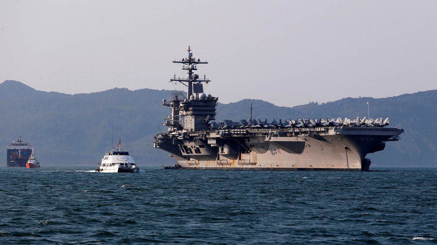 USS Carl Vinson in Vietnam port: Americans hammer out new scheme to deter China