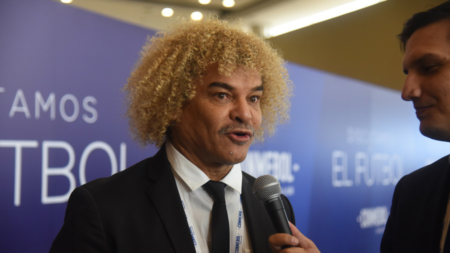 'If Colombia win the World Cup, I'll shave my head': New RT signing Carlos Valderrama