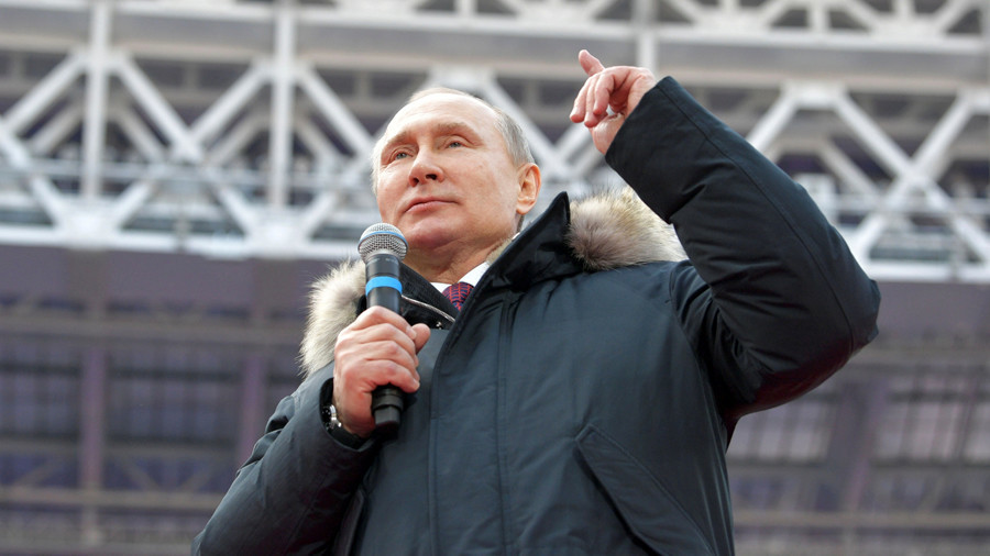 Your guide to the 2018 Russian presidential election candidates: 2. Vladimir Putin (Independent)
