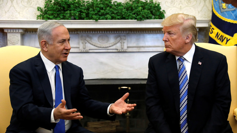 Trump and Netanyahu discuss Palestine in WH meeting for just '15 minutes'