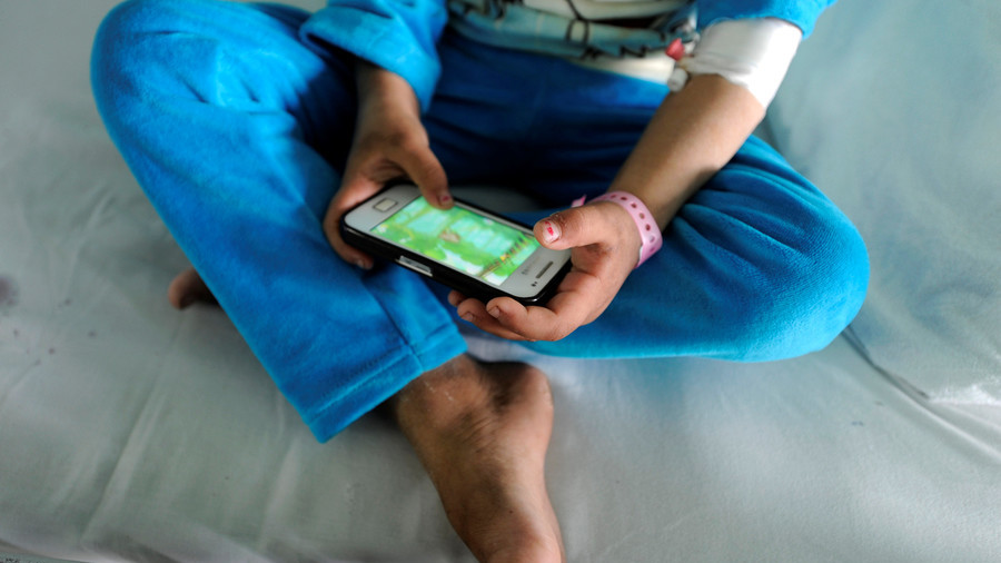 Indian butcher chops off son's hand over 'porn & cellphone addiction'