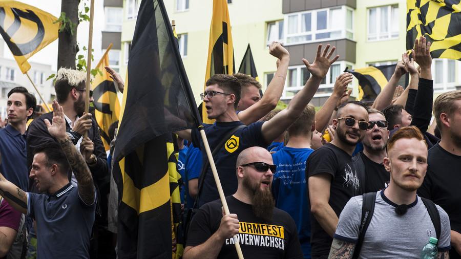 'Alt-right' Generation Identity to hit UK streets after anti-fascists block 'free speech talk'