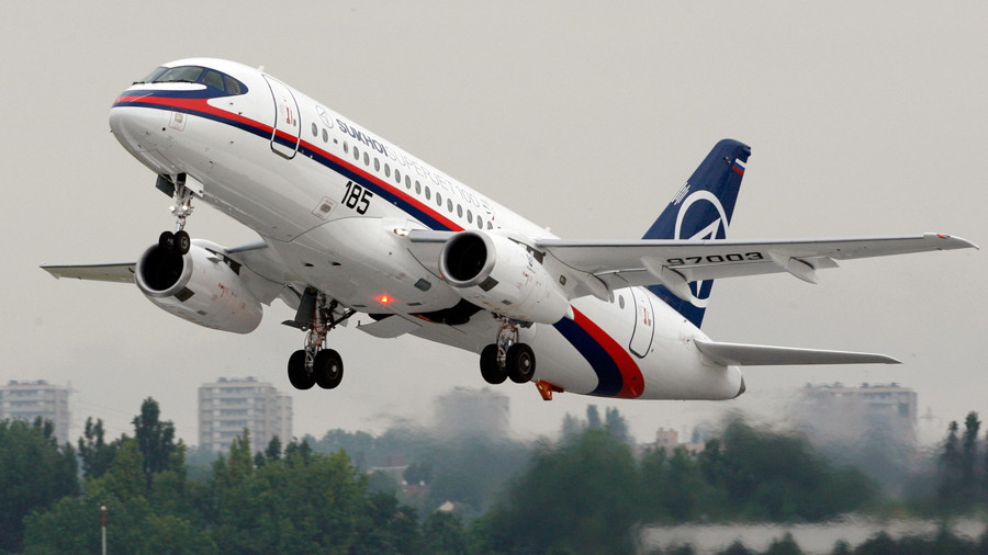 Russian SSJ-100 airliners may soon take to Iranian skies