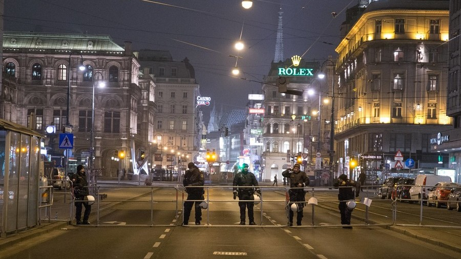 Manhunt in Vienna after 2 knife attacks leave several people critically injured