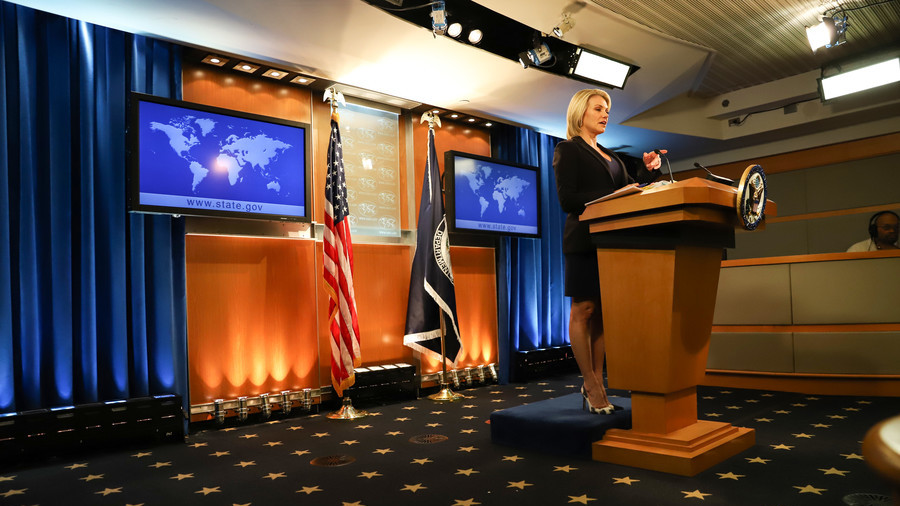 'Something broken in US State Dept?' Russian Embassy bewildered by Nauert's Twitter eruption