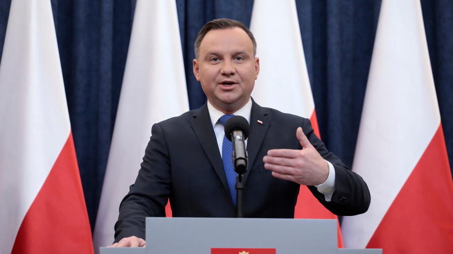 'We're not to blame, but please forgive Poland,' president tells Jews over 1968 persecution