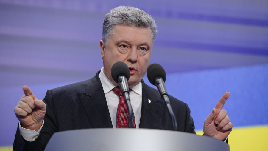 Poroshenko threatens Moscow with 'total destruction' in gas dispute
