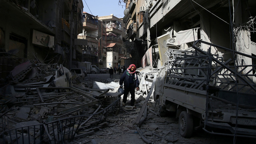 Syria pushes on with eastern Ghouta offensive to safeguard Damascus from attacks