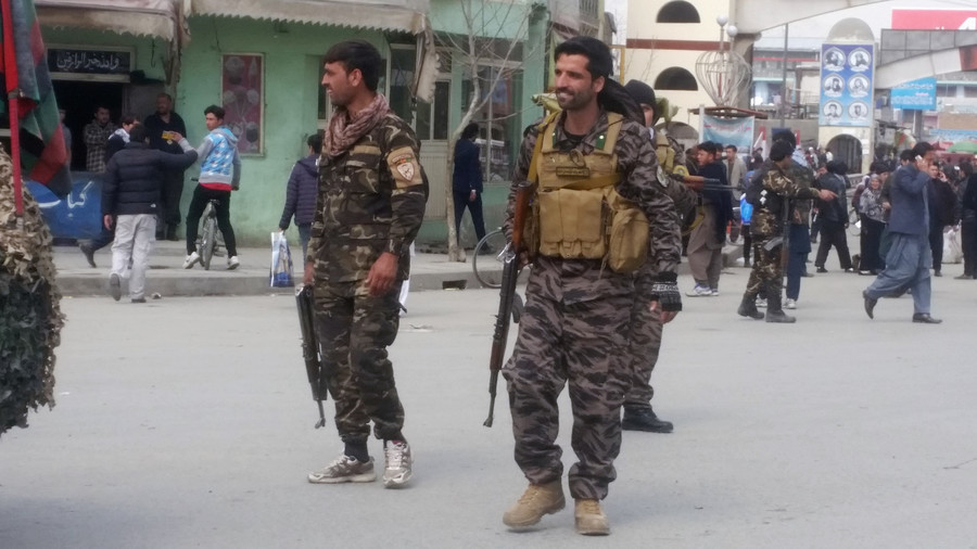 Explosion near Afghan mosque kills 7, injures 22