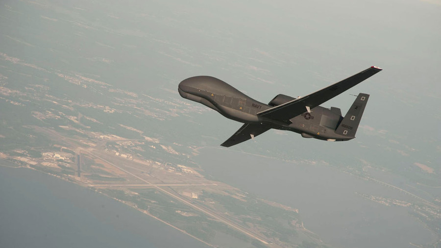 Hiding in the skies: US spy drone reportedly spotted near Crimea