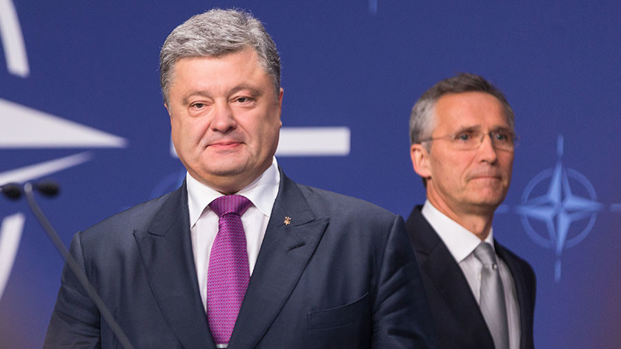 Kiev hails NATO recognition of Ukraine's 'aspiration' to join the bloc