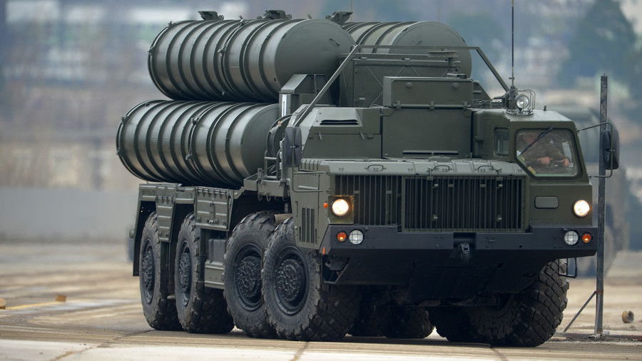 'US won't even sell us rifles': Turkey's FM explains purchase of Russian S-400 air-defense systems