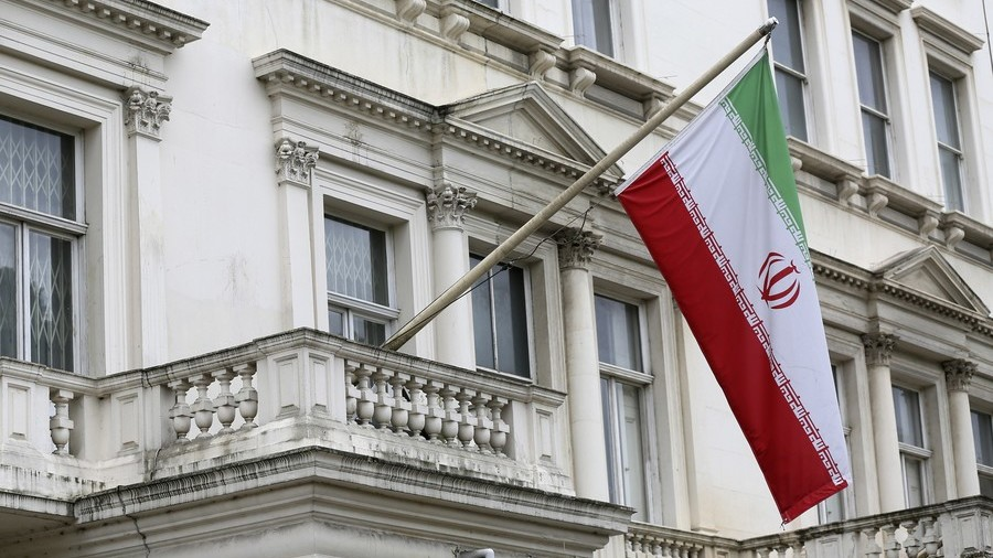 Iran summons UK envoy, vows 'decisive response' to embassy flag incident