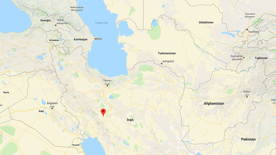 Turkish plane crashes in Iran