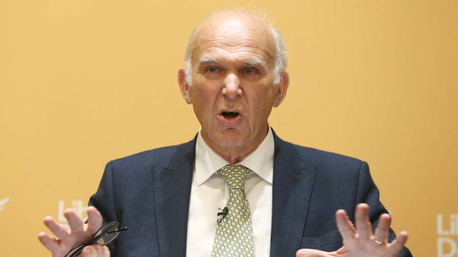'When faces were white': Vince Cable claims Brexit voters driven by nostalgia for Britain of old