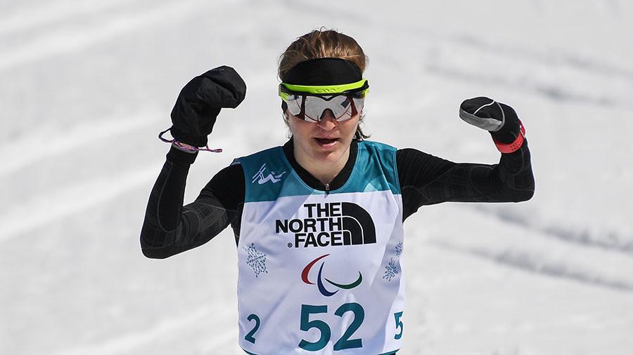 Russian para athlete Rumyantseva wins 3rd gold at PyeongChang 2018