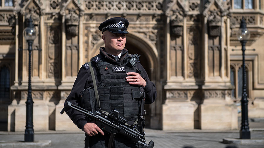 Police investigating suspicious package in Houses of Parliament, day after similar incident