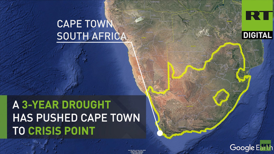 Countdown to Day Zero: Why is Cape Town running out of water? (VIDEOS)