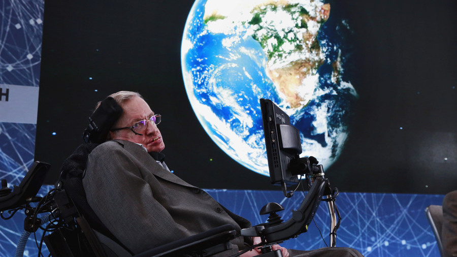 Physicist Stephen Hawking dies at the age of 76 5aa8bd1bfc7e93bb758b45d9