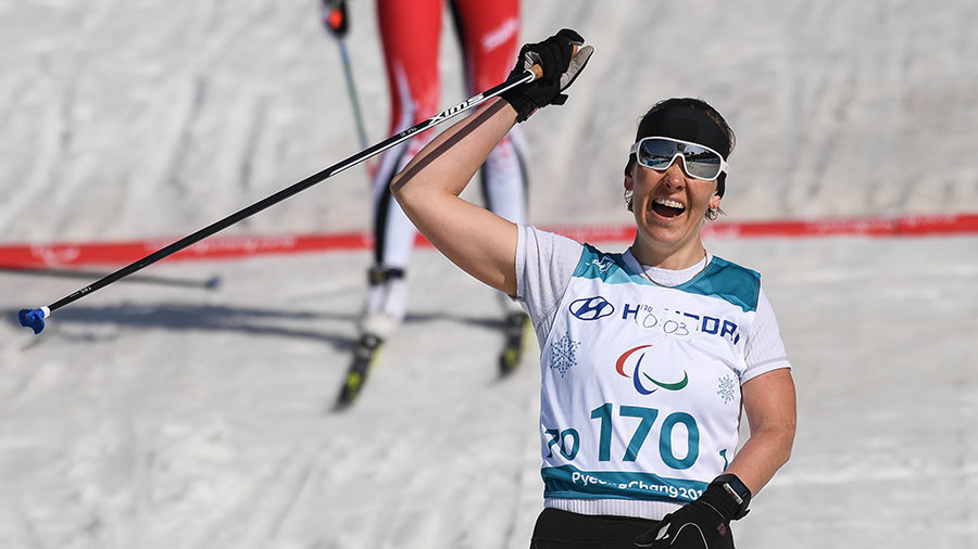 Milenina leads Russian medal haul in PyeongChang with cross-country sprint gold
