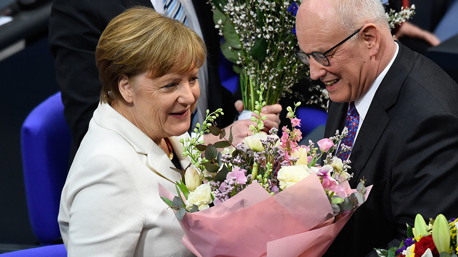 'Uncertainty is over' as Germany's Merkel sworn in