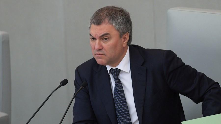 US and EU failed to impose 'pet president' on Russia, says Duma speaker