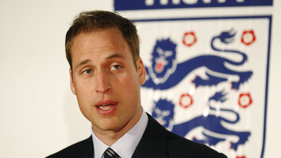 Own goal: UK Prime Minister Theresa May confirms Prince Wills World Cup no go