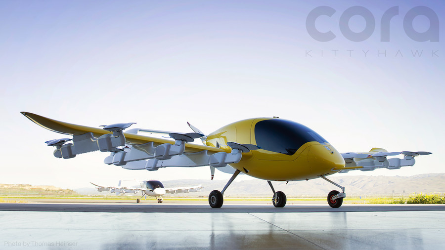 Be your own pilot: Google founder launches self-flying taxi