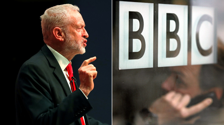 'Extreme bias': BBC blasted for Corbyn Bolshevik backdrop on Newsnight