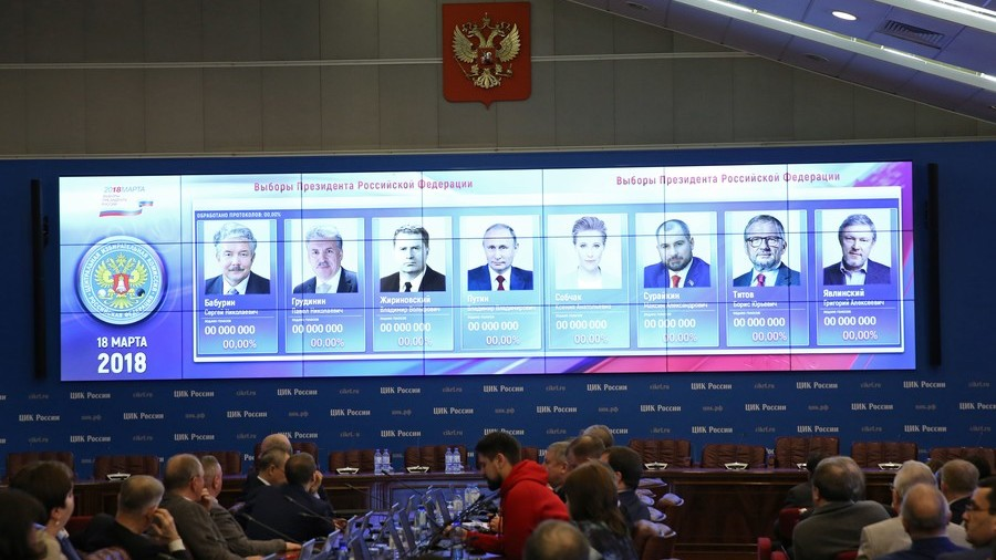 Russians head to ballot stations in 7th presidential election