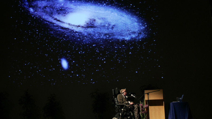 Hawking predicted the end of the world weeks before his death