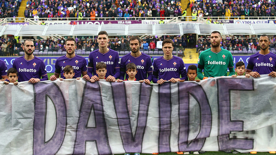 Fiorentina to rename training centre after late captain Davide Astori