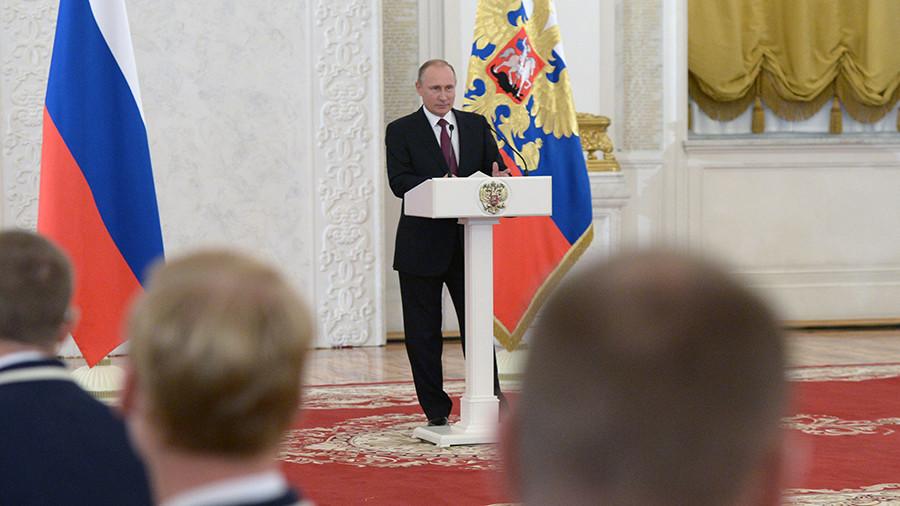 Putin to meet PyeongChang 2018 Paralympic medalists in Kremlin